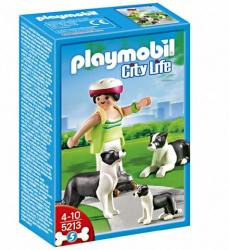 Playmobil Border Collie kutyacsalád (5213)