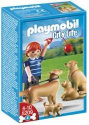 Playmobil Golden Retriever kutyacsalád (5209)