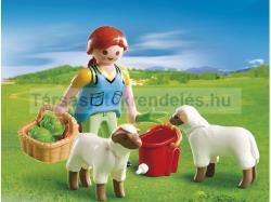 Playmobil Gazdasszony báránykákkal (4765)