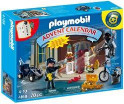 Playmobil Adventi naptár Rendőrség (4168)