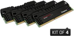 Kingston 16GB (4x4GB) DDR3 1600MHz KHX16C9T3K4/16X