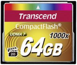 Transcend CompactFlash 64GB 1000x (CF) TS64GCF1000