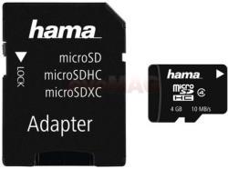 Hama MicroSDHC 4GB Class 4 108011