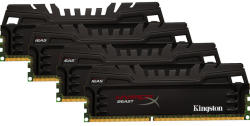Kingston 32GB (4x8GB) DDR3 1600MHz KHX16C9T3K4/32X