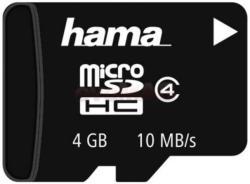Hama MicroSDHC 4GB Class 4 114749