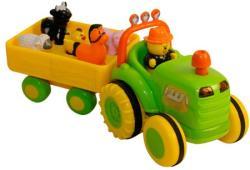 Bébi traktor állatokkal