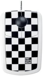 Pat Says Now Checker Flag