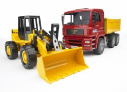 BRUDER Camion MAN cu buldozer (2752)