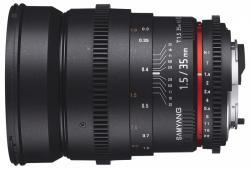 Samyang 35mm T1.5 AS UMC VDSLR (Canon)