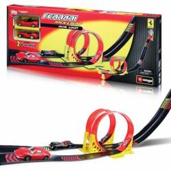 Bburago Ferrari 1:43 Dual Loop Play Set (31216)