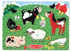 Melissa & Doug Animale la Ferma 6