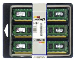 Kingston 24GB (3x8GB) DDR3 1333MHz KVR1333D3E9SK3/24G