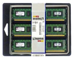 Kingston 24GB (3x8GB) DDR3 1333MHz KVR1333D3E9SK3/24G