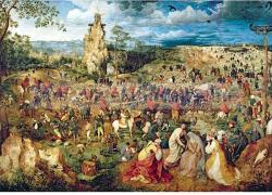 Trefl Bruegel Út a kálváriára 1000 db-os (10292)