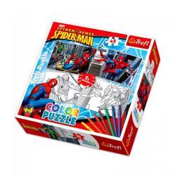 Trefl Color Puzzle - Pókember 2 az 1-ben színezhető puzzle (36506)