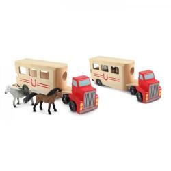 Melissa & Doug Camion Transportor de Cai (MD4097)