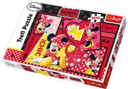 Trefl Minnie Mouse kollázs 500 db-os (37159)