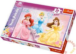 Trefl Disney Hercegnők 24 db-os maxi puzzle (14125)