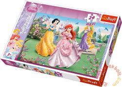 Trefl Disney Hercegnők a szökőkútnál 24 db-os (14135)