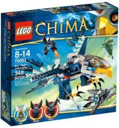 LEGO Legends of Chima Playthemes Eris sas elhárító vadászgépe (70003)