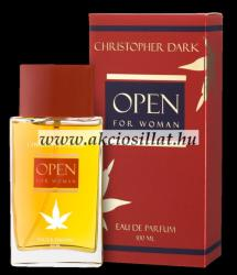 Christopher Dark Open For Woman EDP 100ml