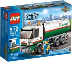 LEGO City - Tartálykocsi 60016