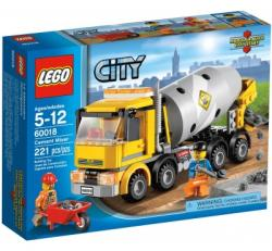 LEGO City - Betonkeverő (60018)