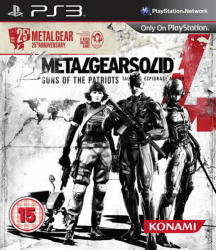 Konami Metal Gear Solid 4 Guns of the Patriots [25th Anniversary Edition] (PS3)