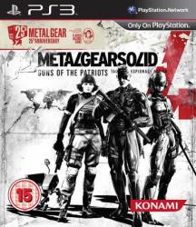 Konami Metal Gear Solid 4 Guns of the Patriots [25th Anniversary Edition] (PS3)