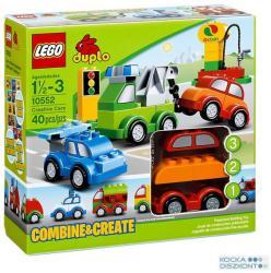 LEGO DUPLO - Kreatív autók 10552
