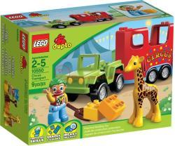 LEGO Duplo - Cirkuszi szállítójármű (10550)