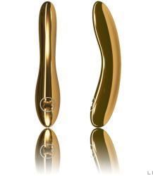 LELO Inez Gold 24 karátos arany bevonatú luxus vibrátor