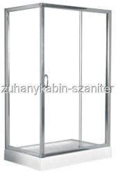 Sanotechnik 80x120x185 cm szögletes (B16W)