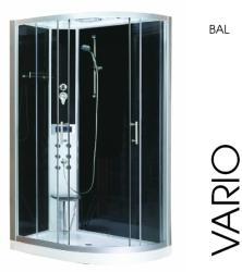 Sanotechnik Vario 80x120x215 cm íves balos (CL120)