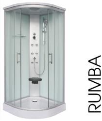 Sanotechnik Rumba 90x90x215 cm íves (CL88)