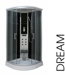 Sanotechnik Dream 90x90x215 cm íves (CL98)