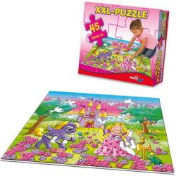 Noris Hercegnős óriás padló puzzle 45 db-os