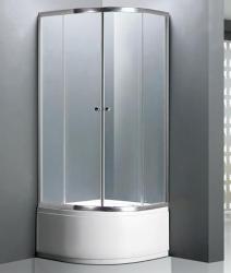 Niagara Wellness Alor 90x90 cm zuhanytálcával íves