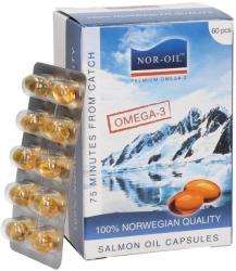 NOR-OIL Szűz lazacolaj kapszula - 60 db
