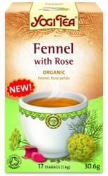 YOGI TEA Édeskömény Tea Rózsával 17 filter