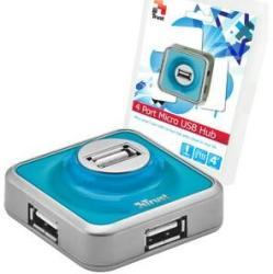 Trust 4 Port USB 2.0 Micro Hub (16127)