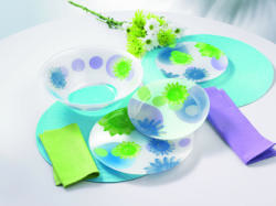 Luminarc Flowers Dream, Blue étkészlet
