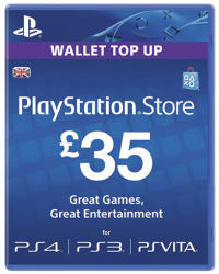 Sony Playstation Network Card 35 GBP