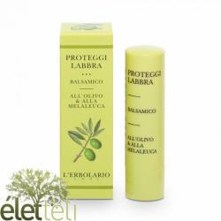 L'Erbolario ajakápoló kicserepesedett ajkakra olíva- és teafa olajjal