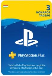 Sony PlayStation Plus: 3 Month Membership