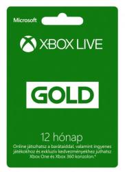 Microsoft Xbox Live Gold 12 Months membership