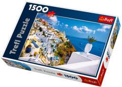 Trefl Santorini Görögország 1500 (26119)