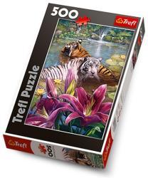 Trefl Fürdőző tigrisek 500 db-os (37137)