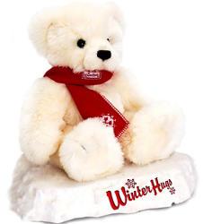 Keel Toys Karácsonyi jegesmedve 25cm