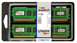 Kingston 16GB (2x8GB) DDR3 1333MHZ KVR1333D3E9SK2/16G